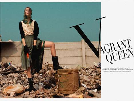 Vagrant Queen Editorial by Mario Ardi