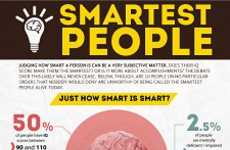 Intelligence-Ranking Infographics