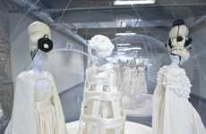 All-White Couture Exhibits