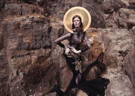 Savage Sartorial Photography - The Alchemy Editorial for Dew Magazine Boasts Spanning Scenery