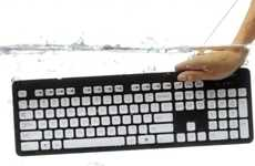 The Logitech K310 Keyboard is Waterproof and Slob-Resistant