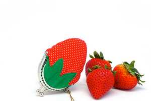 The Strawberry Coin Purse by Misala is a Juicy Treat