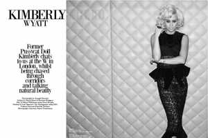 Kimberly Wyatt for Beauty Rebel is Haute and Evocative