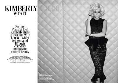 Kimberly Wyatt for Beauty Rebel