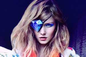 'The New Day' Editorial in Dew Magazine Fall 2012 is Electic & Colorful
