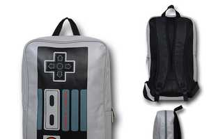 The Nintendo Controller Backpack is Perfect for Back to School