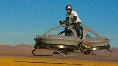 Aerofex Flying Bike