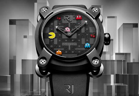 Arcade Game Timepieces - The RJ-Romain Jerome Pac Man Watch is a Limited-Edition Item