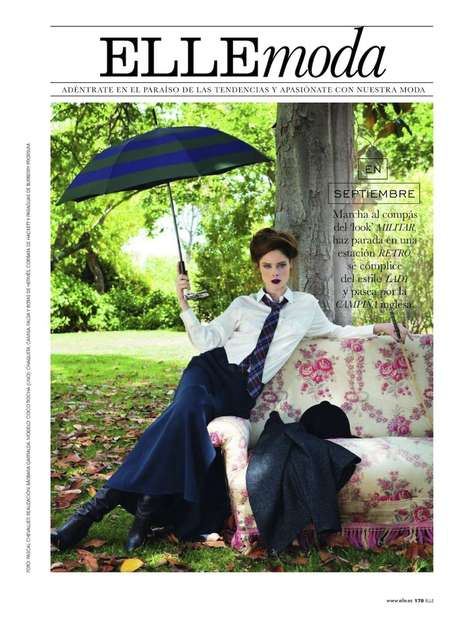 Coco Rocha in Elle Spain September 2012