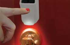 Sun-Charged Door Lights