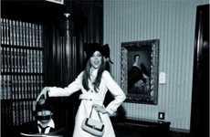 Glammed-Up Bandit Captures - Ladrona De Guante Blanco for Elle Spain is Stealthy