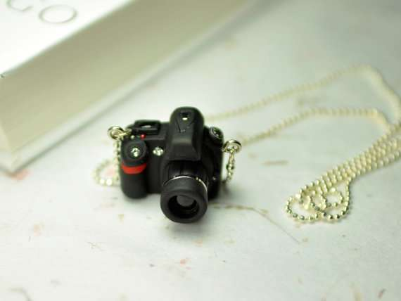 JnPol DSLR Camera Miniature Necklaces 2