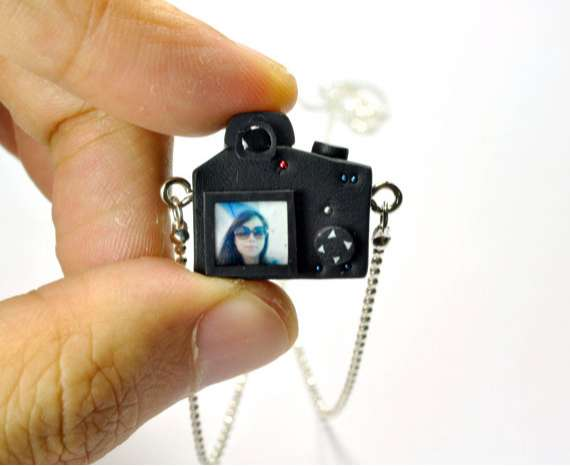 JnPol DSLR Camera Miniature Necklaces 7