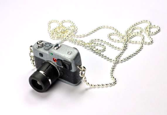 JnPol DSLR Camera Miniature Necklaces 8