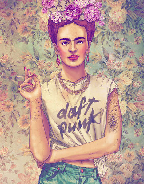 Hipsterized Pop Cultural Figures 