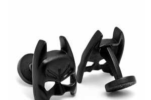 The Batman Mask Cufflinks are Super Suave
