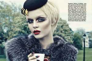 Vogue Italy Beauty August Features a Bold Array of Looks
