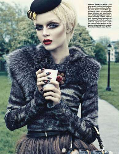 Vogue Italy Beauty August