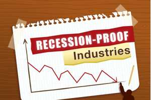 The Recession-Proof Industry Infographic Shows Safe Sectors