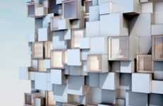 Pixelated Lodging Exteriors