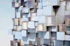 Pixelated Lodging Exteriors