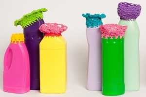 The Magda van der Vloed Vases are Made Out of Plastic Containers