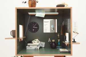 The Koloro Desks are Chromatic Privacy Boxes