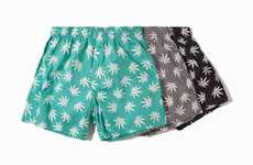Stoner Socks and Undies - The HUF Plantlife Fall Products Feature Illegal Substances