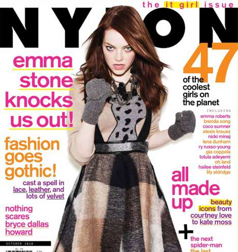 Emma Stone features