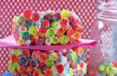 Multi-Hued Cereal Snacks