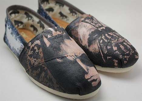 pairs of TOMS shoes