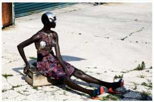 The Editorial by Julia Noni for Obsession Magazine Stars Ajak Deng