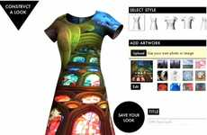 Custom Digitally Printed Fashion