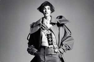 Linda Evangelista for Interview Russia September 2012 is Sophisticated