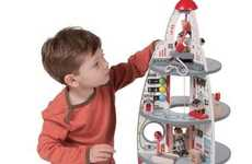 Spaceship-Shaped Doll Houses