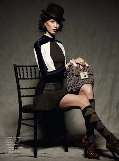 Karlie Kloss for Harper's Bazaar Russia September 2012