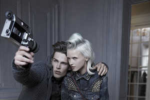 The Bershka F/W 2012 Campaign is Studded with Functional Fashion