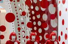 Polka-Dot-Infused Fashion Displays - The Louis Vuitton Yayoi Kusama Selfridges Pop-Up is Exuberant