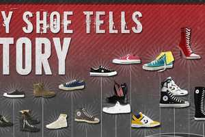 The Converse History Infographic Goes Back in Time