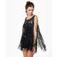 All-Tassel Tops - The Counterculture Black Fringe Tank is Full of Frills (GALLERY) 1