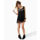 All-Tassel Tops - The Counterculture Black Fringe Tank is Full of Frills (GALLERY) 2