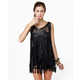 All-Tassel Tops - The Counterculture Black Fringe Tank is Full of Frills (GALLERY) 3