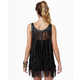 All-Tassel Tops - The Counterculture Black Fringe Tank is Full of Frills (GALLERY) 4