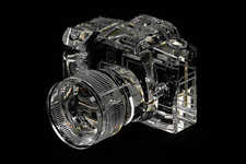 Translucent Camera Sculptures