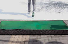Jody Xiong Creates a Green Crosswalk to Spread Awareness