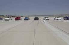 Car Power Showcases - The 'World's Greatest Drag Race 2' by MotorTrend Reaches Some Big Speeds