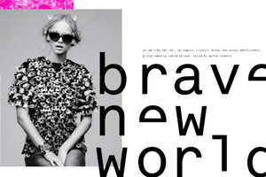 The Nylon Magazine 'Brave New World' Spread is Edgily Encrusted