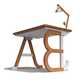 Levitating Lettered Workstations - The Liviu Avasiloiei Persona Desk is Completely Customizable (GALLERY) 4