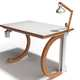Levitating Lettered Workstations - The Liviu Avasiloiei Persona Desk is Completely Customizable (GALLERY) 5