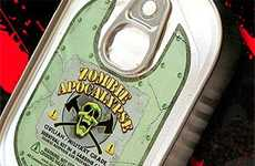 Undead Survival Cans - The Sardine Can O' Zombie Apocalypse Survival Kit Saves Lives